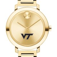 Virginia Tech Women's Movado Gold Bold 34
