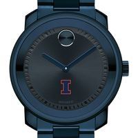 University of Illinois Men's Movado BOLD Blue Ion with Bracelet