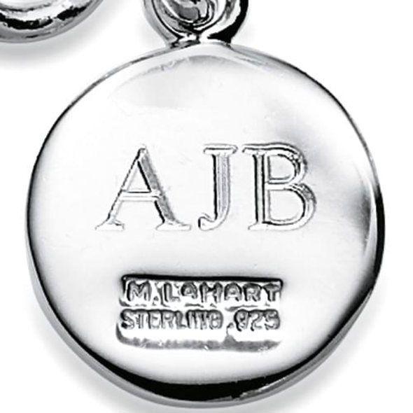 Northeastern Sterling Silver Charm Bracelet - Image 3