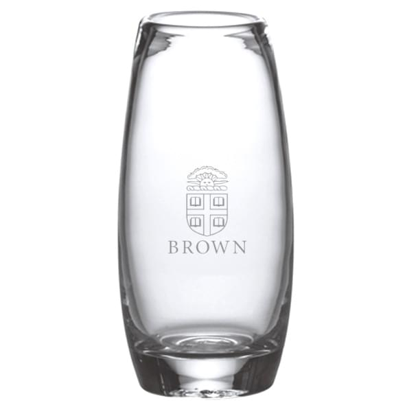 Brown Glass Addison Vase by Simon Pearce