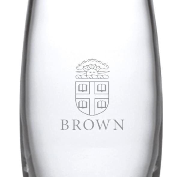 Brown Glass Addison Vase by Simon Pearce - Image 2