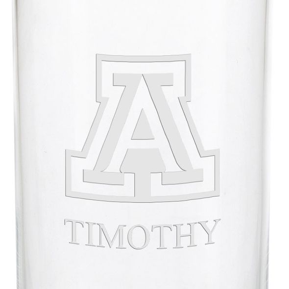 University of Arizona Iced Beverage Glasses - Set of 4 - Image 3