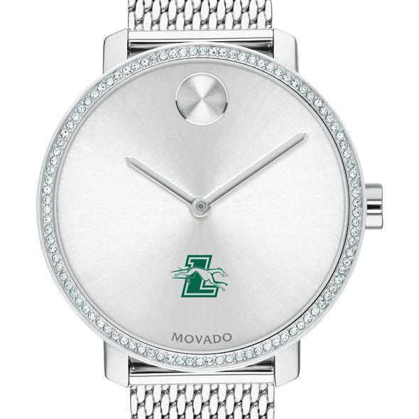 Loyola Women's Movado Bold with Crystal Bezel & Mesh Bracelet