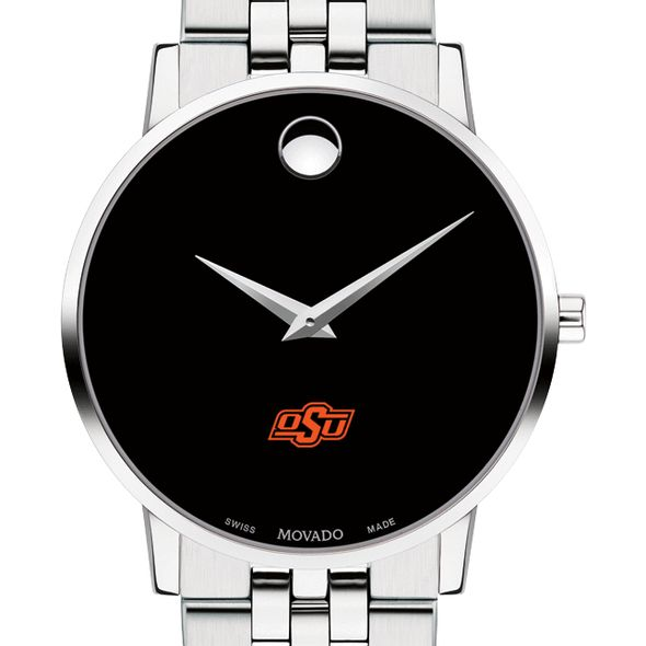 Oklahoma State University Men's Movado Museum with Bracelet