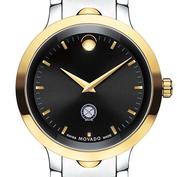 U.S. Naval Institute Men's Movado Luno Sport Two-Tone - Image 1
