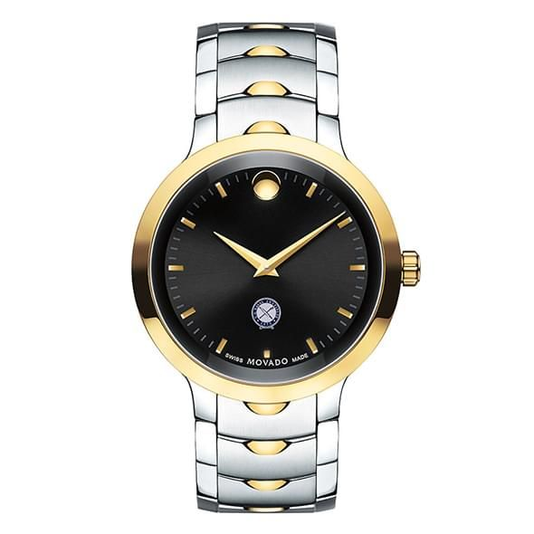U.S. Naval Institute Men's Movado Luno Sport Two-Tone - Image 2
