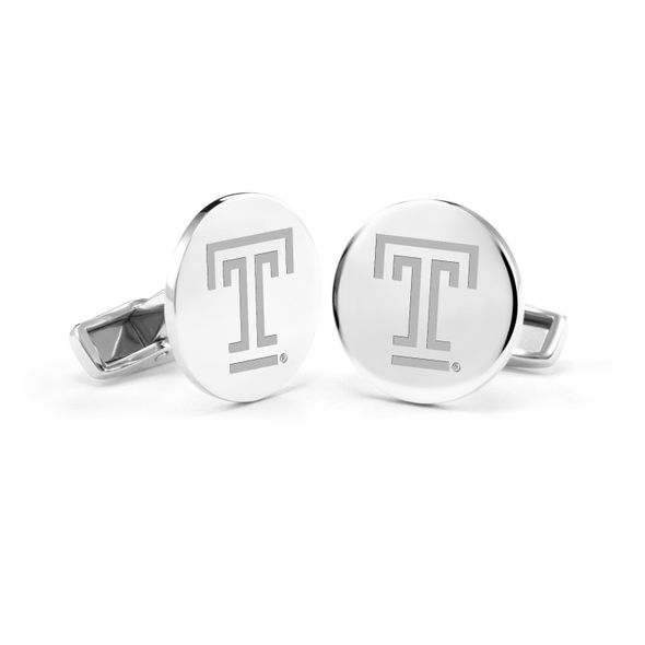 Temple Cufflinks in Sterling Silver