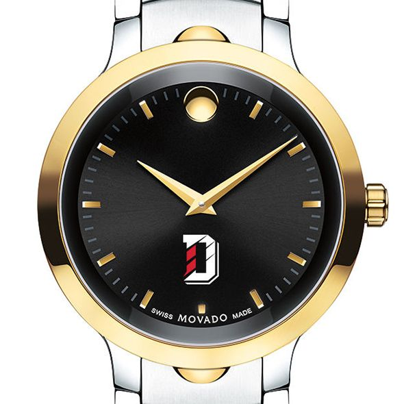 Davidson College Men's Movado Luno Sport Two-Tone