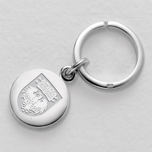 Chicago Sterling Silver Insignia Key Ring - Image 1