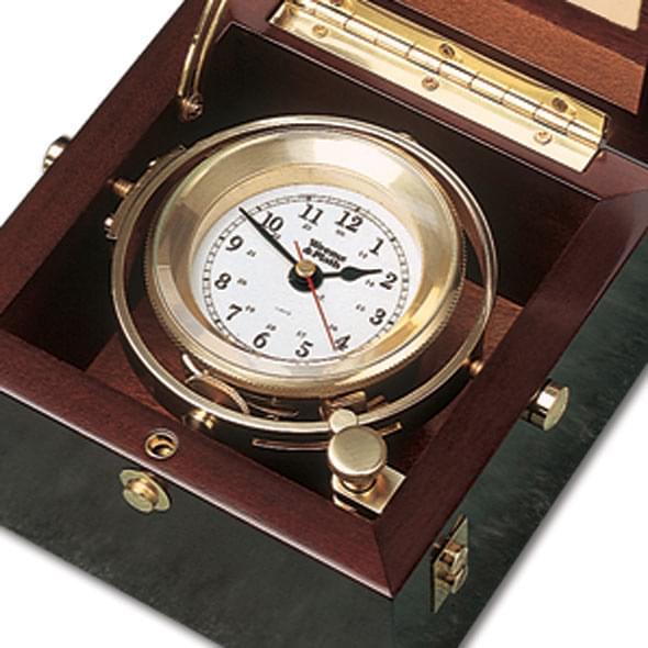 USNI Weems & Plath Gimbal Box Clock - Image 2