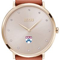 University of Pennsylvania Women's BOSS Champagne with Leather from M.LaHart