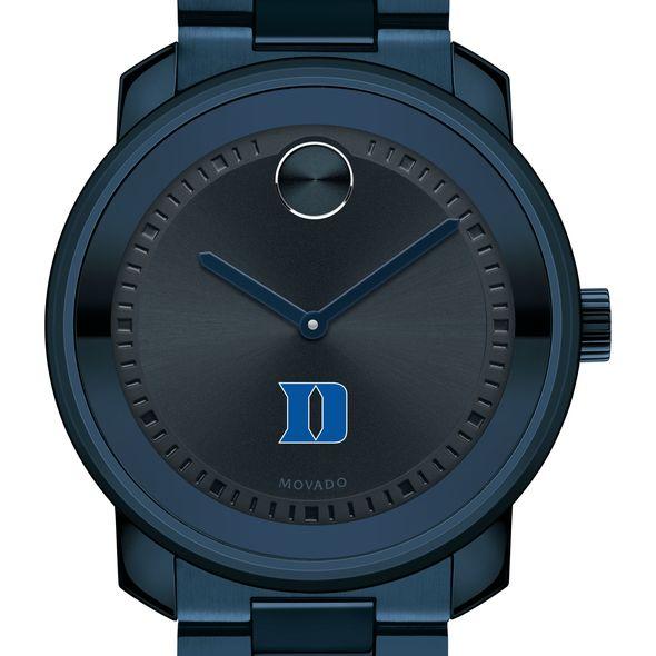 Duke University Men's Movado BOLD Blue Ion with Bracelet