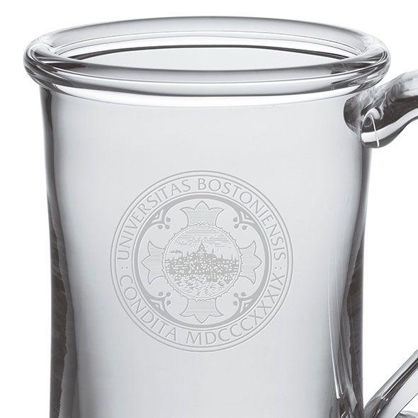 Boston University Glass Tankard by Simon Pearce - Image 2