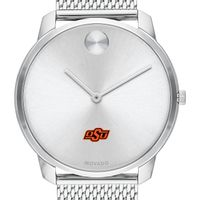 Oklahoma State University Men's Movado Stainless Bold 42