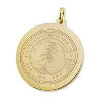 Stanford 18K Gold Charm