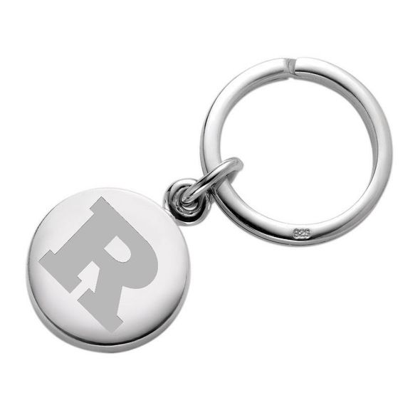 Rutgers University Sterling Silver Insignia Key Ring
