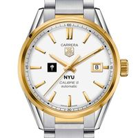NYU Men's TAG Heuer Two-Tone Carrera with Bracelet