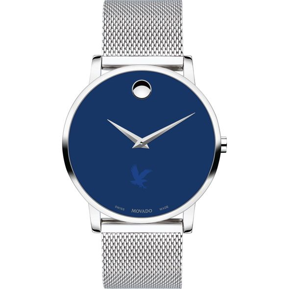 Embry-Riddle Men's Movado Museum with Blue Dial & Mesh Bracelet - Image 2