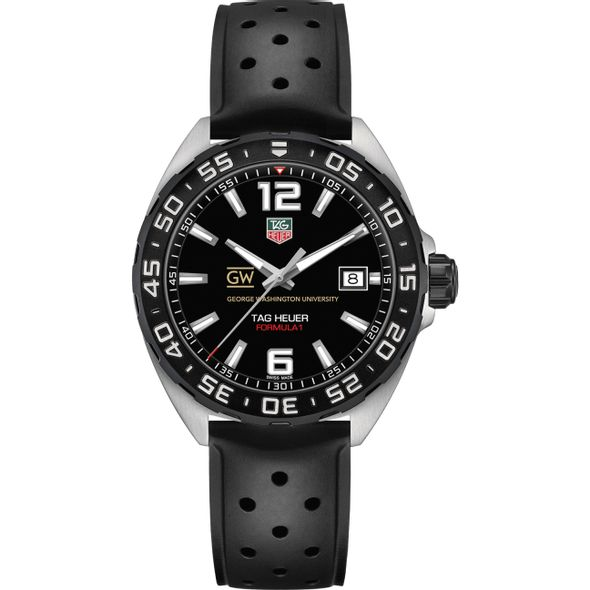George Washington University Men's TAG Heuer Formula 1 with Black Dial - Image 2