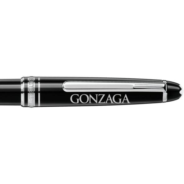Gonzaga Montblanc Meisterstück Classique Ballpoint Pen in Platinum - Image 2