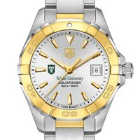 Tulane Women's TAG Heuer Two-Tone Aquaracer