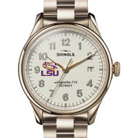 LSU Shinola Watch, The Vinton 38mm Ivory Dial