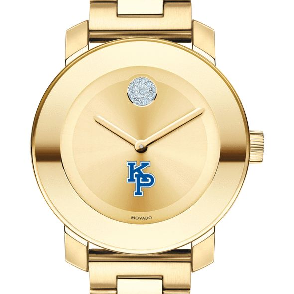 US Merchant Marine Academy Women's Movado Gold Bold - Image 1