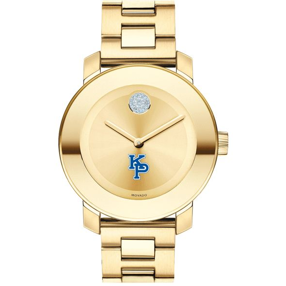 US Merchant Marine Academy Women's Movado Gold Bold - Image 2