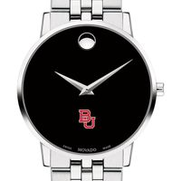 Boston University Men's Movado Museum with Bracelet