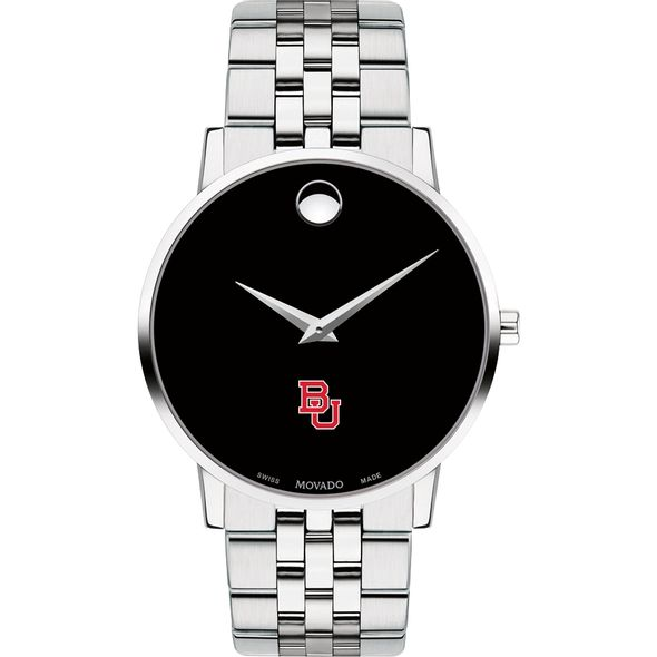 Boston University Men's Movado Museum with Bracelet - Image 2