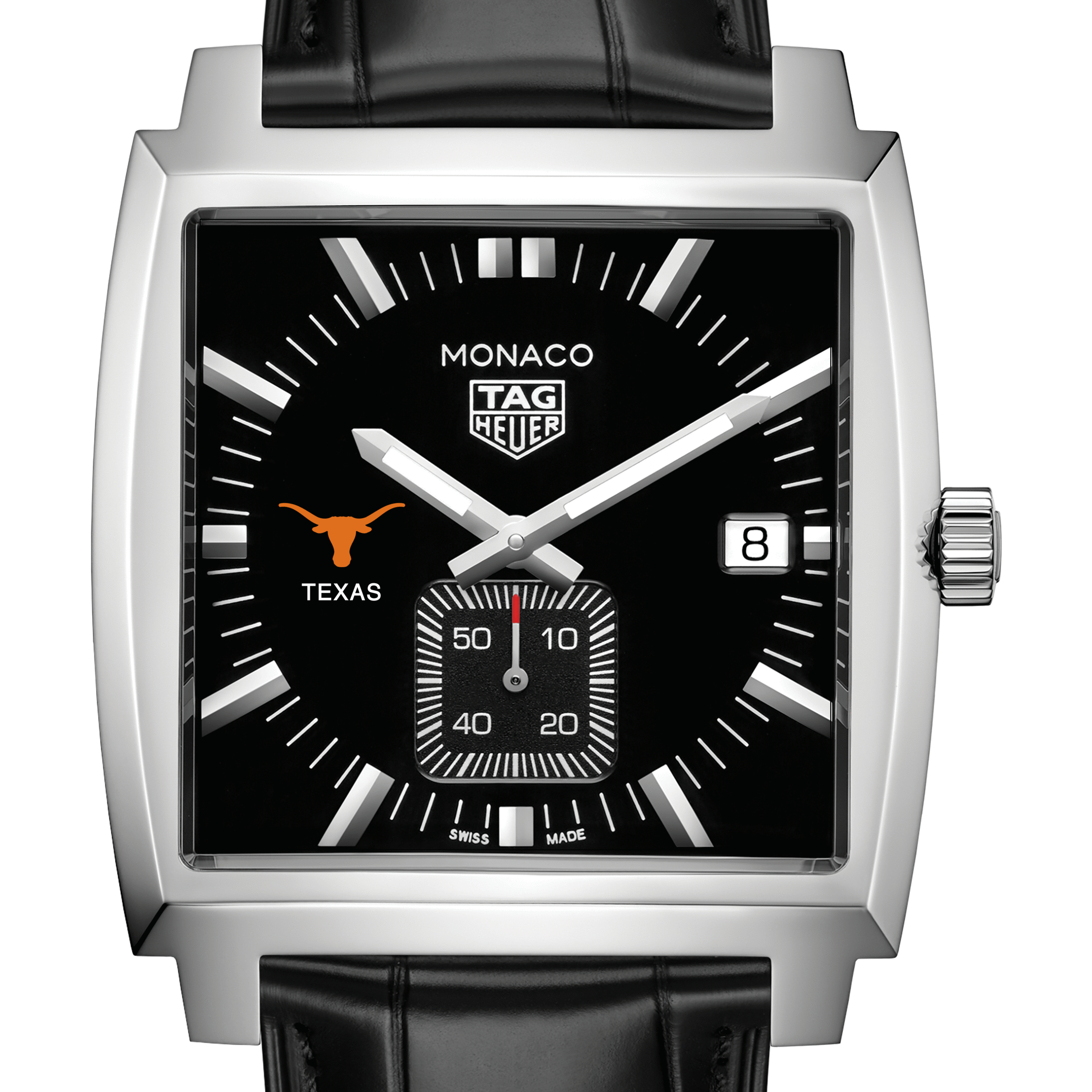 University of Texas TAG Heuer Monaco with Quartz Movement for Men