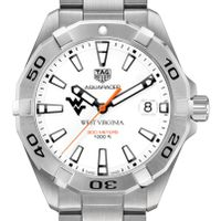 West Virginia University Men's TAG Heuer Steel Aquaracer