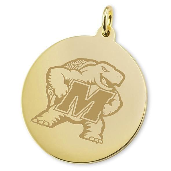 Maryland 14K Gold Charm - Image 2