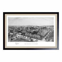 Historic University of Chicago Black and White Print