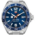 NYU Stern Men's TAG Heuer Formula 1 with Blue Dial & Bezel - Image 1