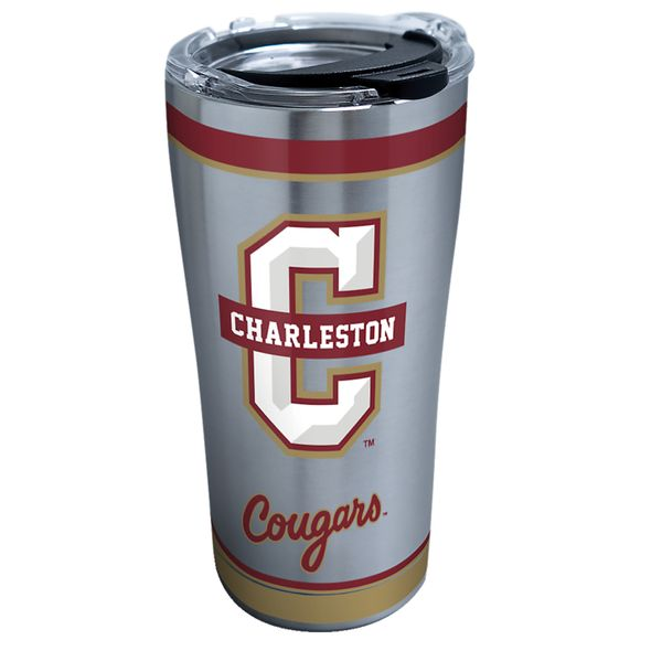 Charleston 20 oz. Stainless Steel Tervis Tumblers with Hammer Lids - Set of 2 - Image 2