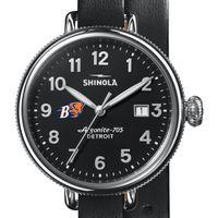 Bucknell Shinola Watch, The Birdy 38mm Black Dial