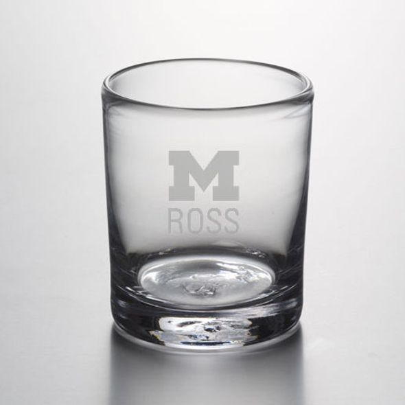 Michigan Ross Double Old Fashioned Glass by Simon Pearce - Image 1