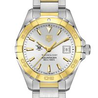 William & Mary Women's TAG Heuer Two-Tone Aquaracer