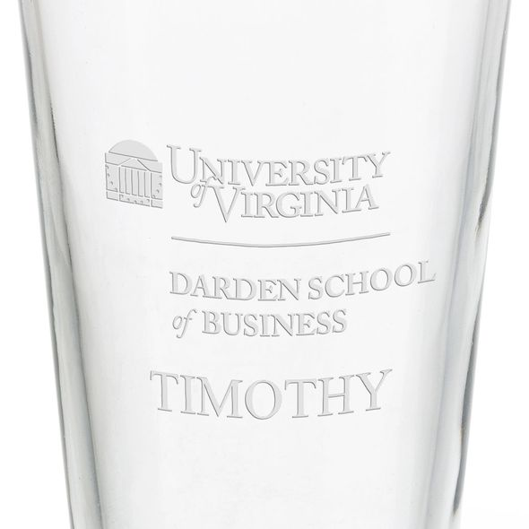 Darden School of Business 16 oz Pint Glass - Image 3