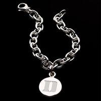 Duke Sterling Silver Charm Bracelet