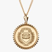 Yale 14K Gold Sunburst Necklace by Kyle Cavan