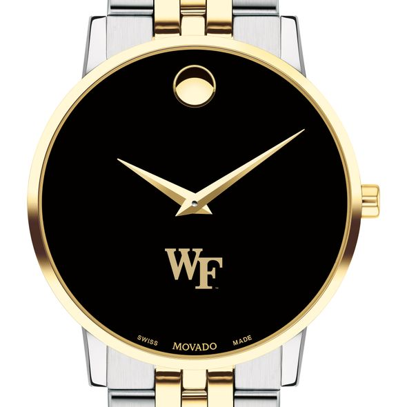 Wake Forest Men's Movado Two-Tone Museum Classic Bracelet - Image 1