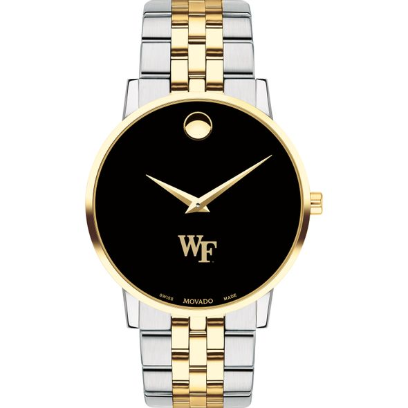 Wake Forest Men's Movado Two-Tone Museum Classic Bracelet - Image 2