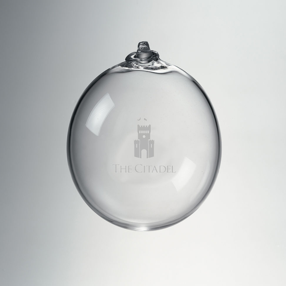 Citadel Glass Ornament by Simon Pearce