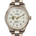 UC Irvine Shinola Watch, The Vinton 38mm Ivory Dial - Image 1