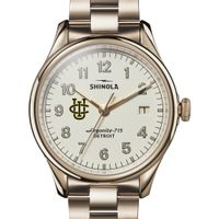 UC Irvine Shinola Watch, The Vinton 38mm Ivory Dial