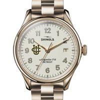 UC Irvine Shinola Watch, The Vinton 38mm Ivory Dial