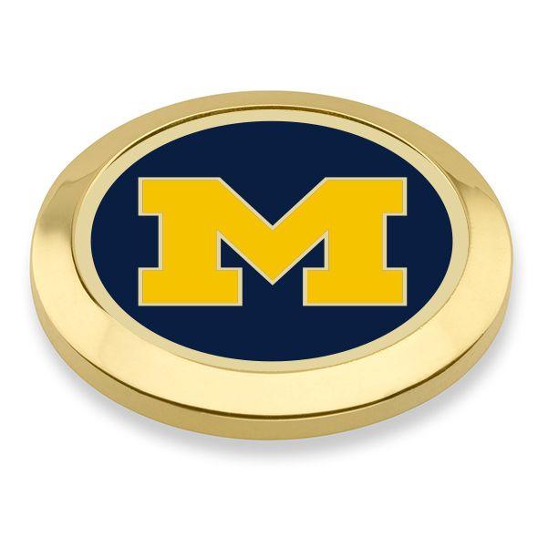 University of Michigan Enamel Blazer Buttons