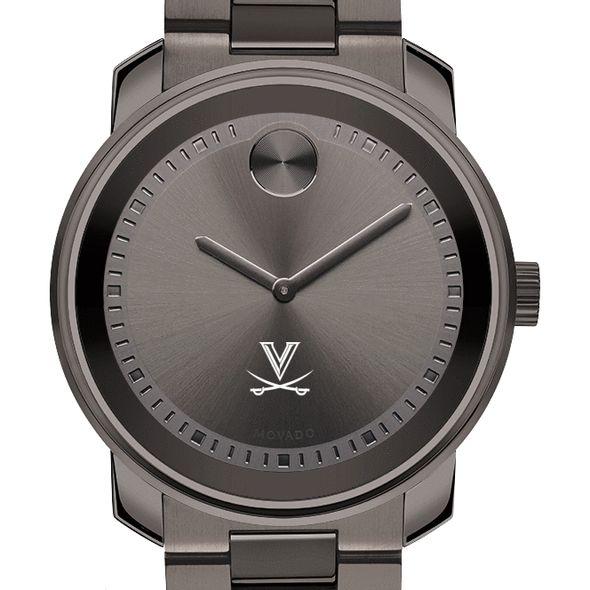 University of Virginia Men's Movado BOLD Gunmetal Grey